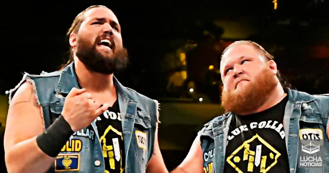 Por esta razón WWE no le dio los campeonato a Heavy Machinery en Elimination Chamber - Otis y Tucker