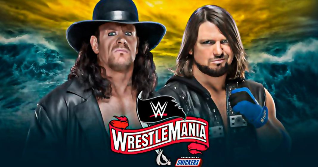 Undertaker vs AJ Styles en WrestleMania 36 confirmado