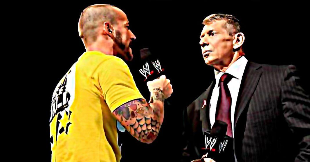 Vince McMahon no tiene confianza en CM Punk y lo considera un problema