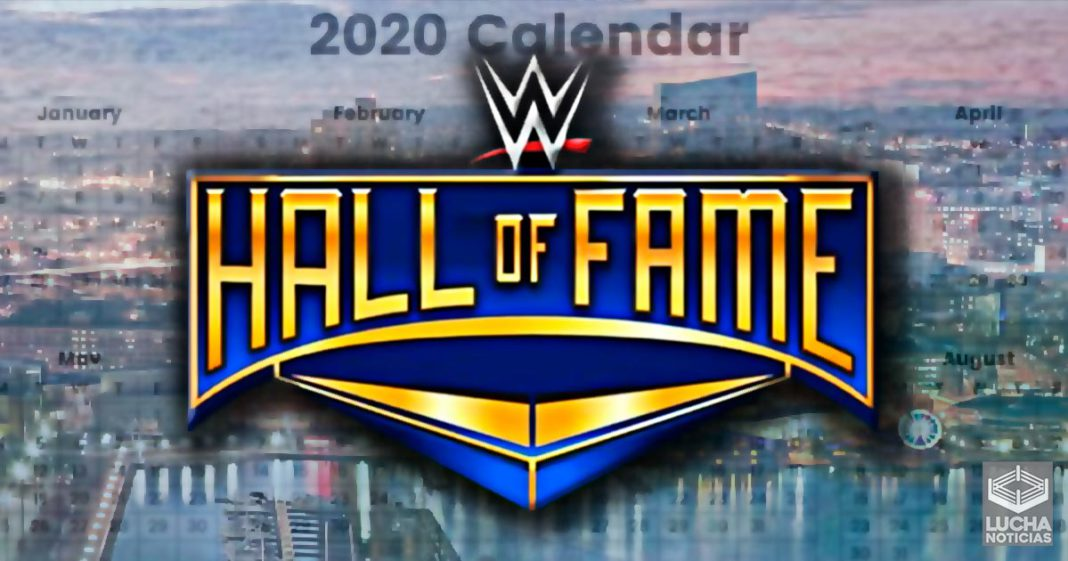 WWE Hall Of Fame fecha cambiada