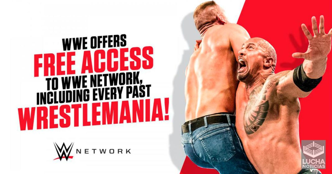 WWE Network es totalmente gratis