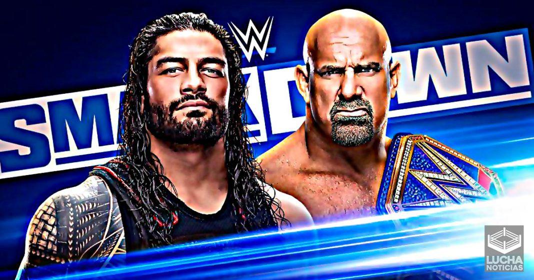 WWE SmackDown en vivo resultados 20 de marzo