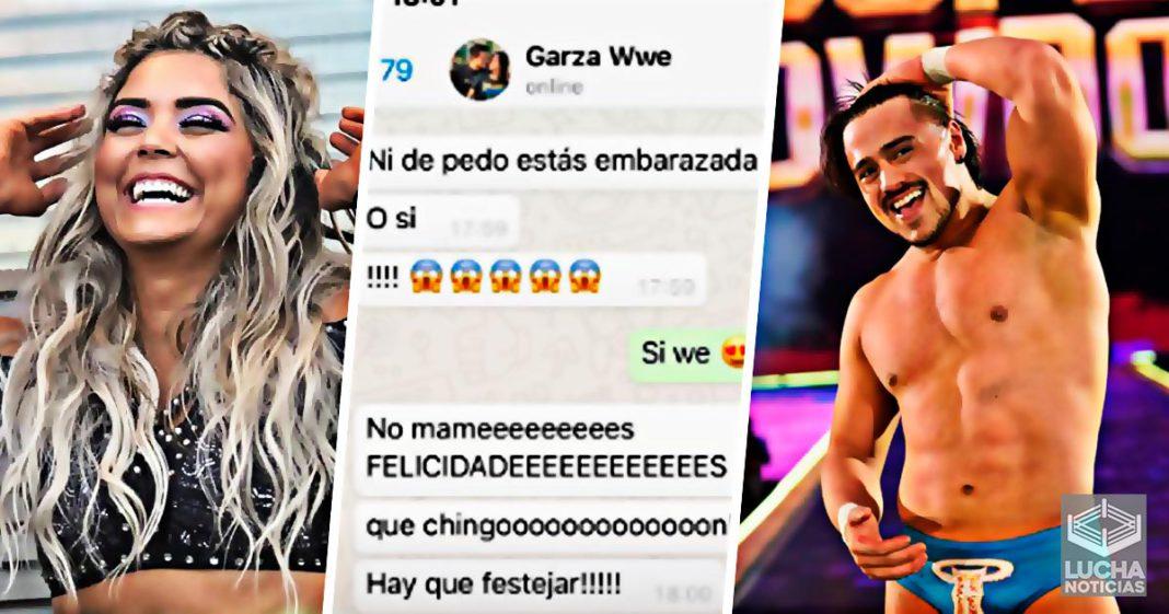 Ángel Garza cae ante la broma de Tyanara Conti