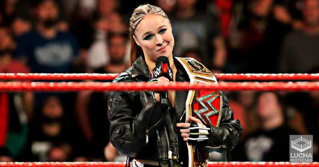 Ronda Rousey si regresaría a la WWE