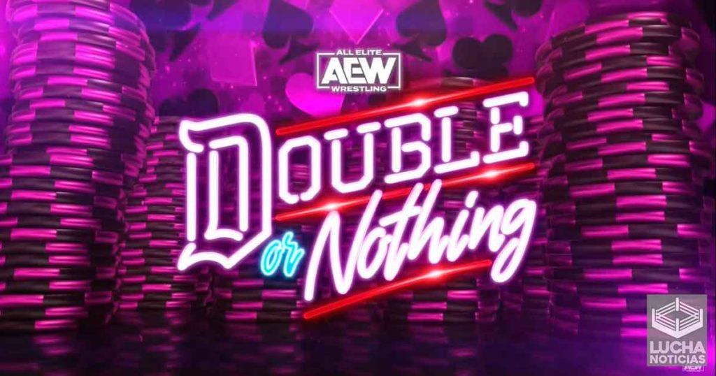AEW Double or Nothing en vivo resultados 23 de mayo