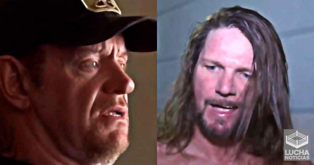 AJ Styles manda mensaje a Undertaker