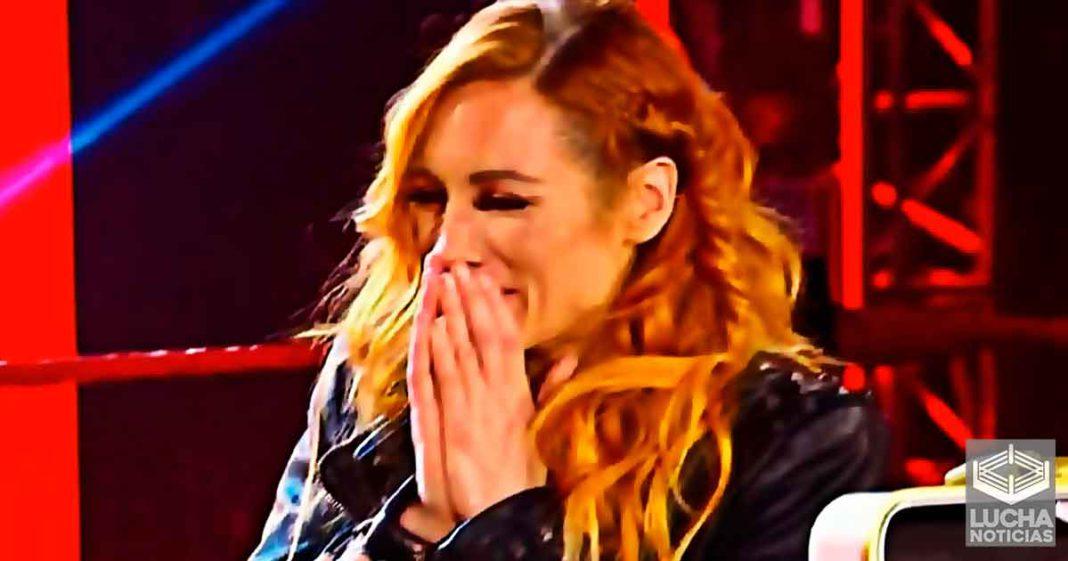 Así se enteró el staff de WWE que Becky Lynch estaba embarazada