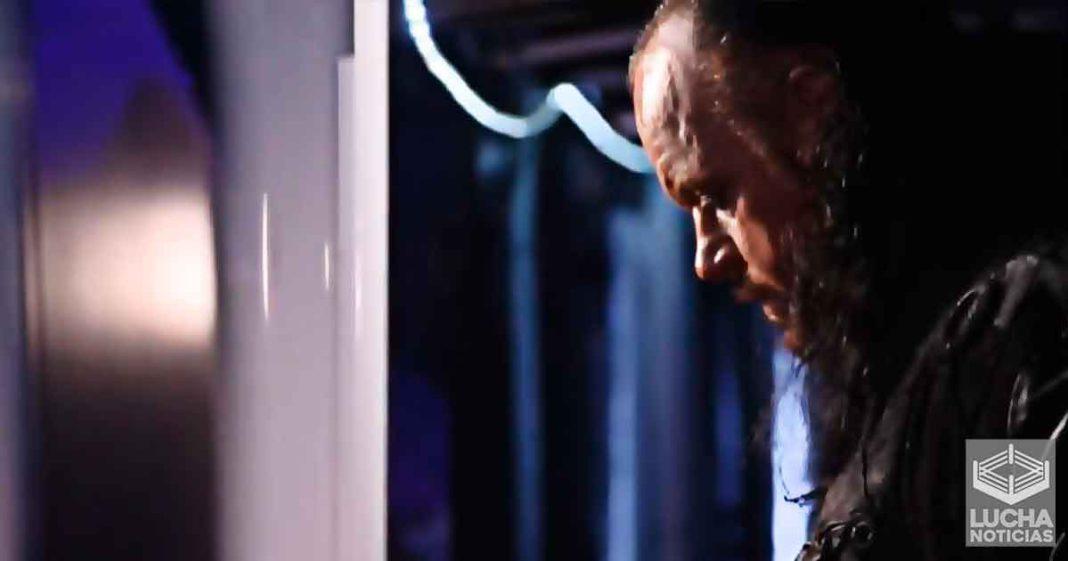 Esto es lo que pide Undertaker para volver a luchar en WrestleMania 37