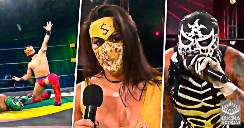 Pentagón Jr, Lady Shani y Dinastia ganan el torneo Lucha Fighter AAA