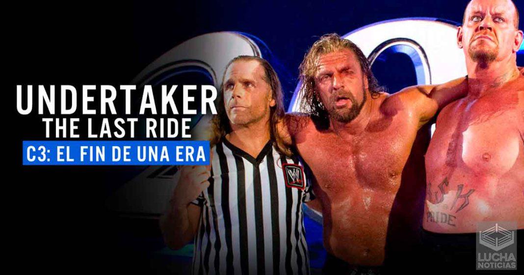 Undertaker The Last Ride Adaptación al Español Capítulo 3 Lucha Noticias