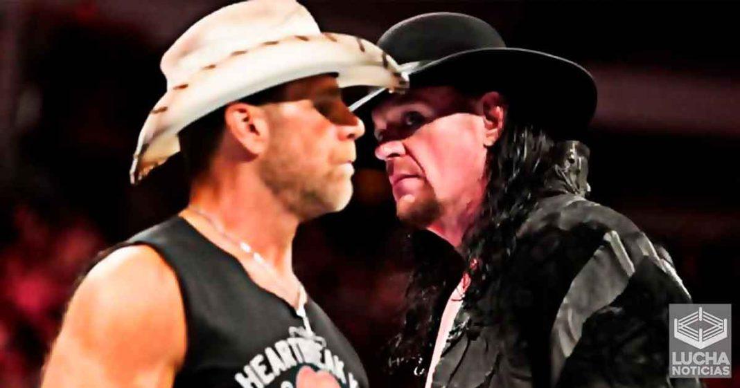 Undertaker tiene gran envidia de Shawn Michaels