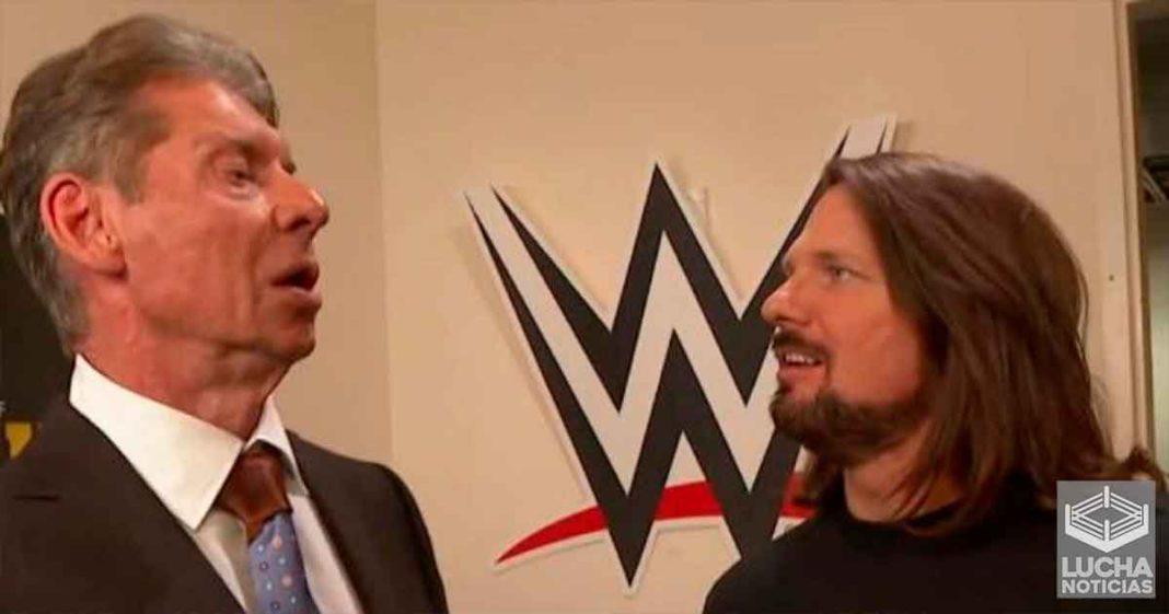 Varias superestrellas le dijeron a Vince McMahon que quieren ir a SmackDown por AJ Styles