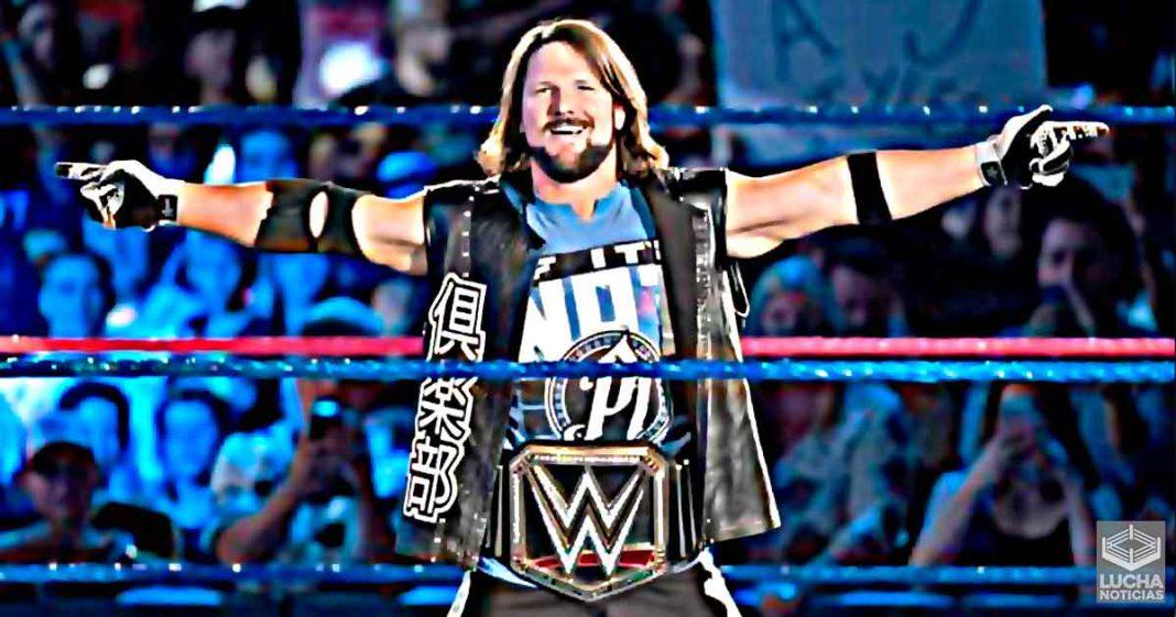 Asi se creo el personaje de AJ Styles con Vince McMahon