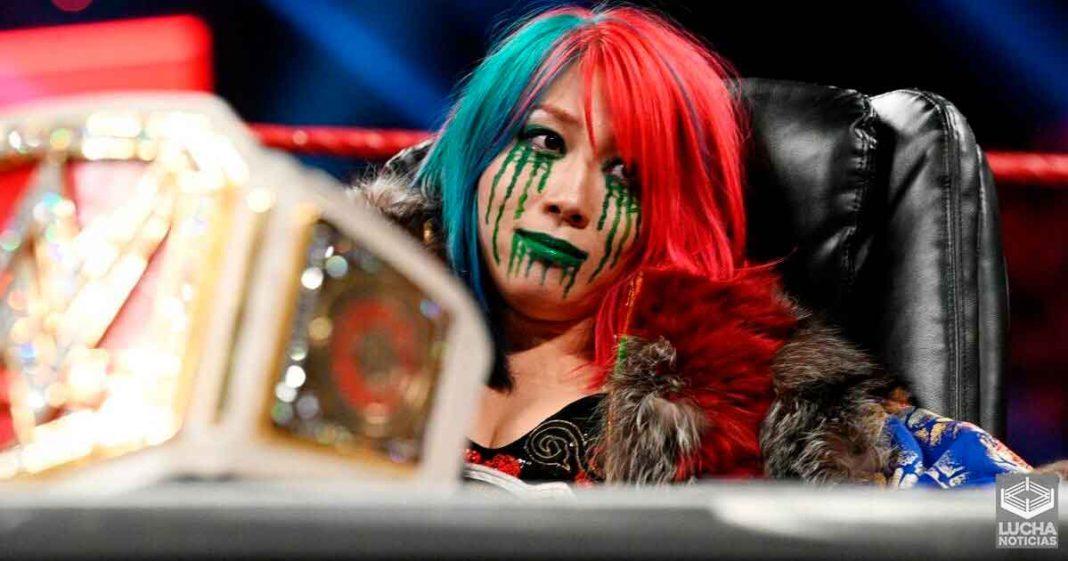 Asuka quiere volver a trabajar en NXT