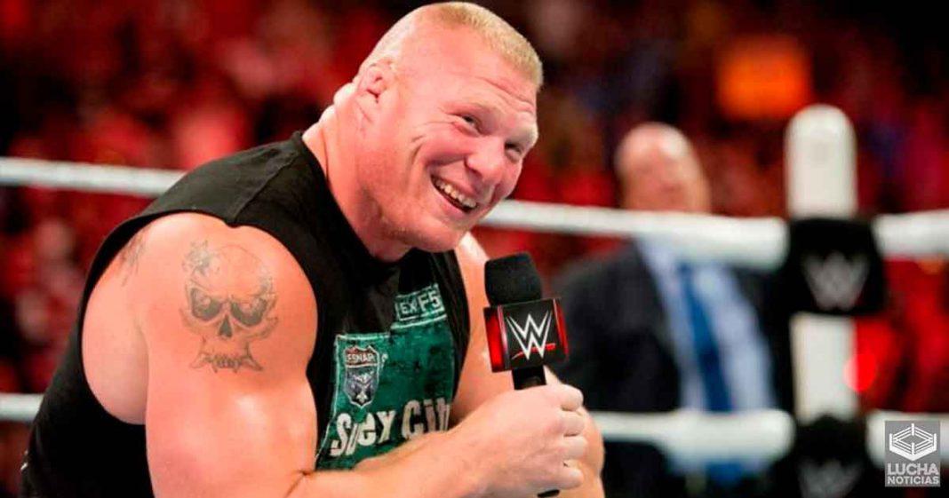 Brock Lesnar le dijo a Matt Riddle que lo dejara de mencionar en redes sociales