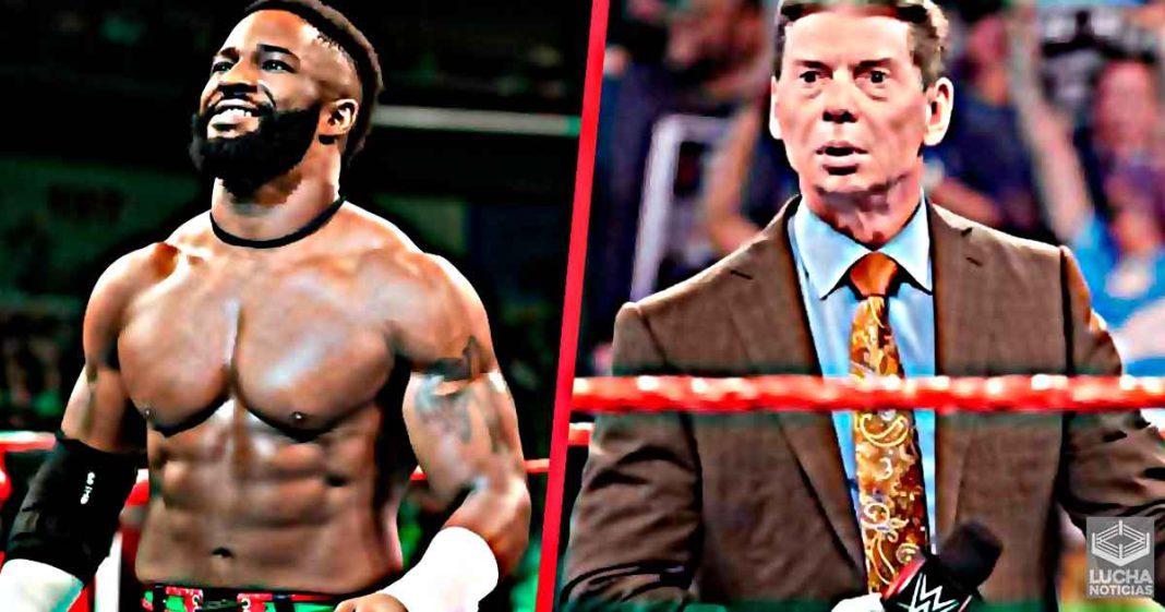 Cedric Alexander ataque a Vince McMahon en redes sociales