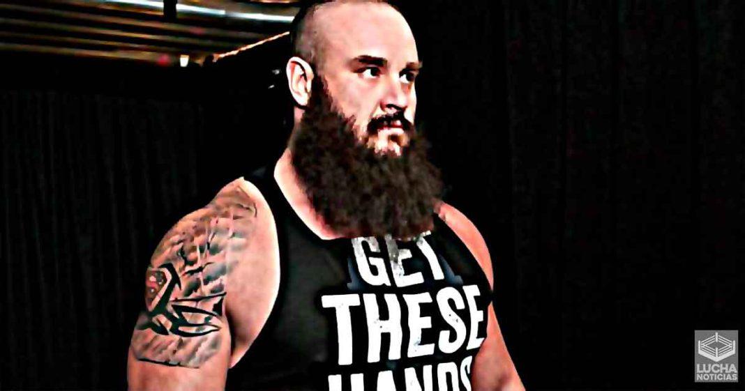 Directivos de WWE tiene muy poca fe en Braun Strowman