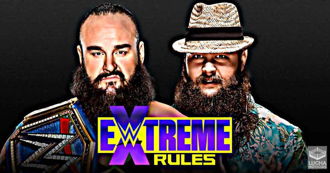 Es oficial Braun Strowman vs Bray Wyatt en lucha de Pantano