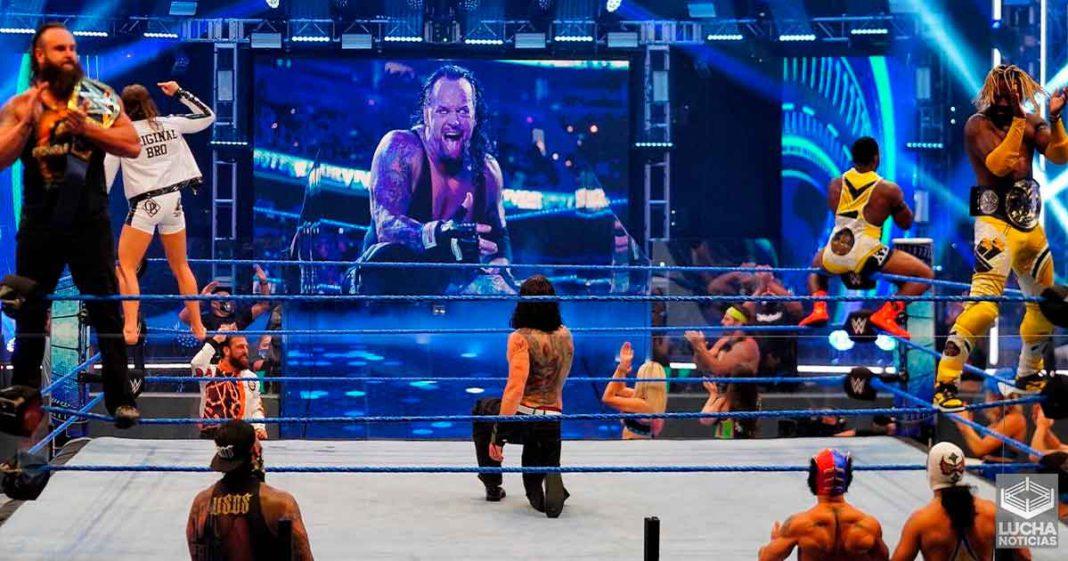 Gran acierto en SmackDown con el tributo a Undertaker