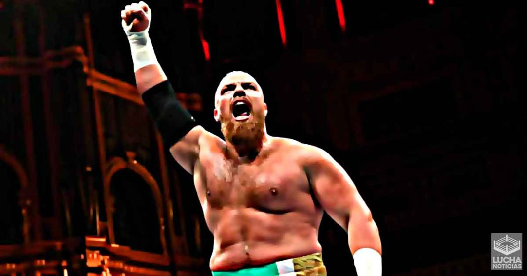 Joe Coffey fue suspendido por la WWE