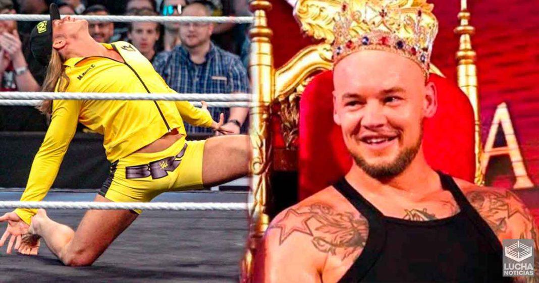 King Corbin es considerado igual de valioso que Matt Riddle por la directiva de la WWE