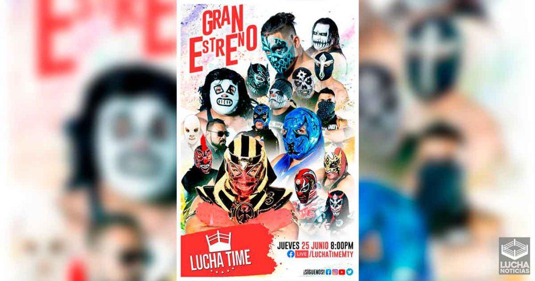 La lucha libre en Monterrey regresa con Lucha Time