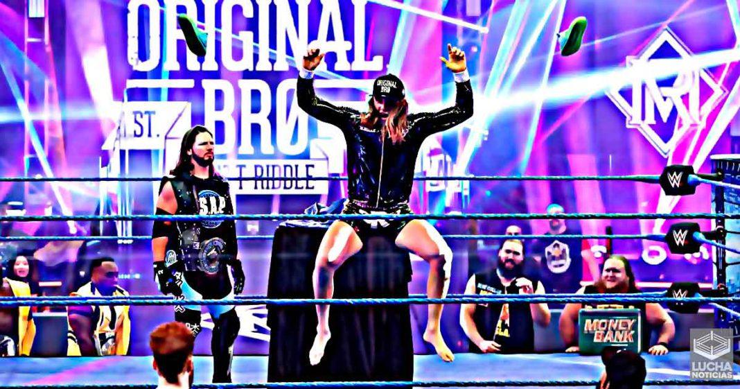 Matt Riddle ya tiene su primera rivalidad en SmackDown