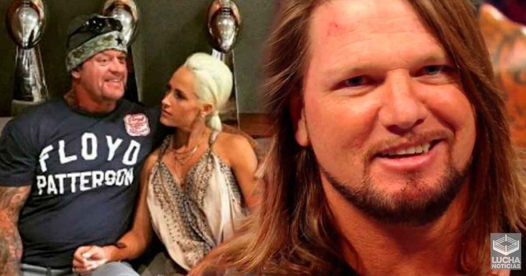 Michelle McCool molesta con WWE por la lucha de Taker y Styles