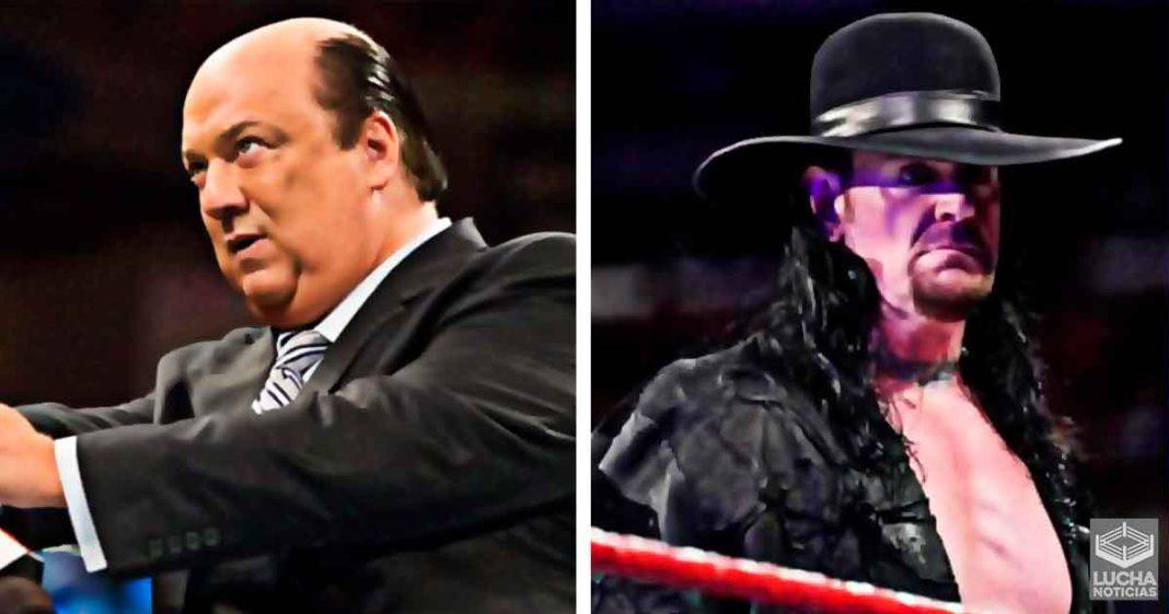 Paul Heyman reacciona a Undertaker diciendo que es un Paul Heyman Guy