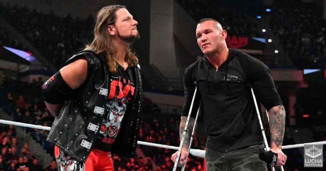 Planes para AJ Styles y Randy Orton antes de ser despedido Paul Heyman