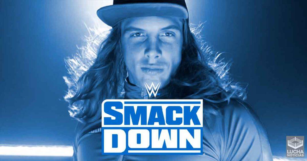 Planes para el debut de Matt Riddle en SmackDown