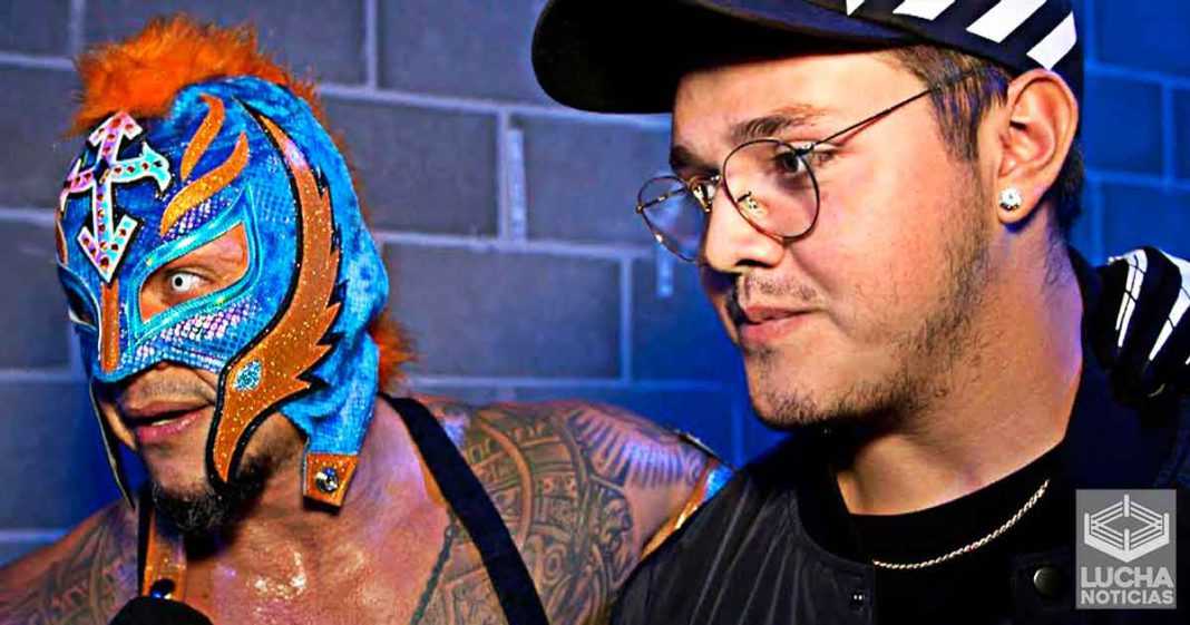 Rey Mysterio quiere que su hijo Dominik ha su debut con estas tres superestrellas