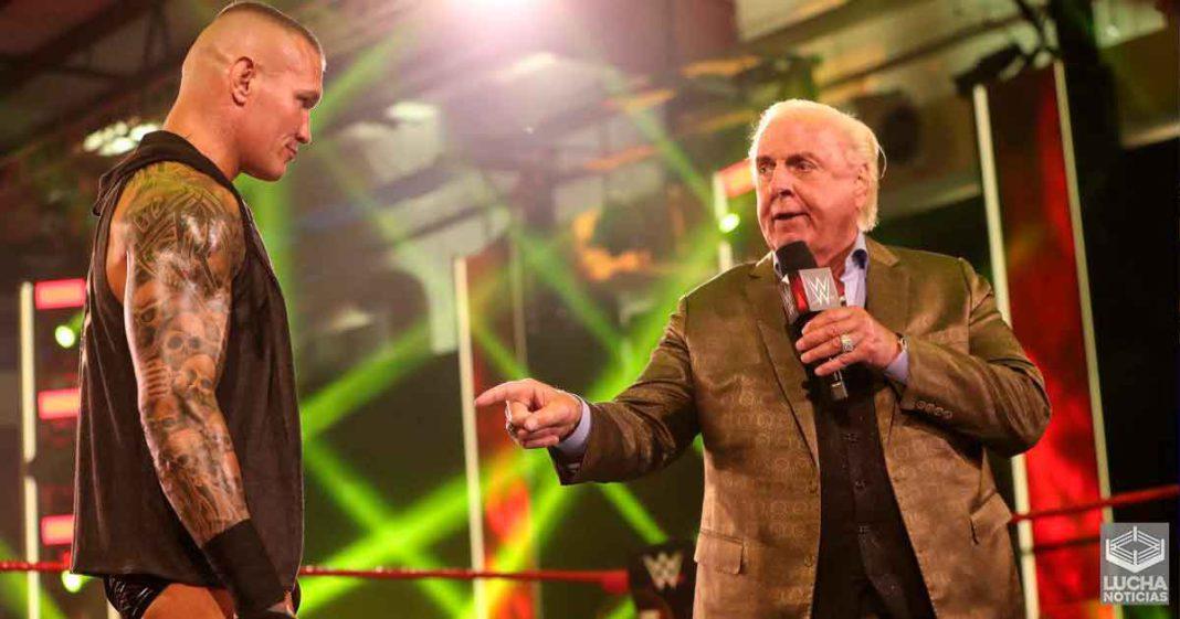Ric Flair por esta razón regresó a la televisión de la WWE