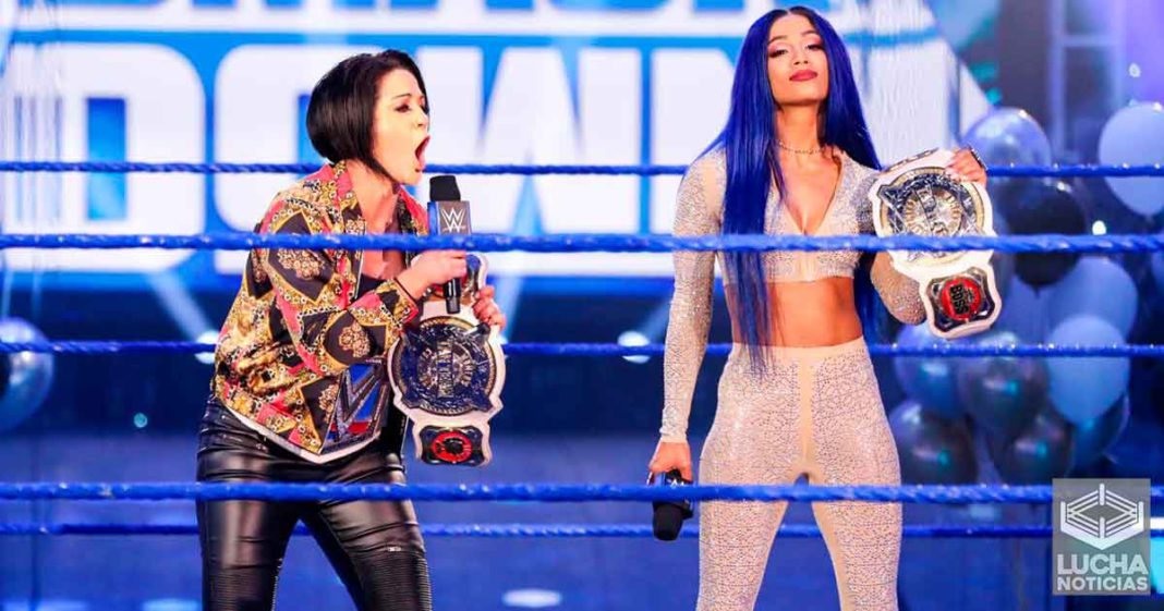 Sasha Banks y Bayley debutaran nuevo finisher en WWE Backlash
