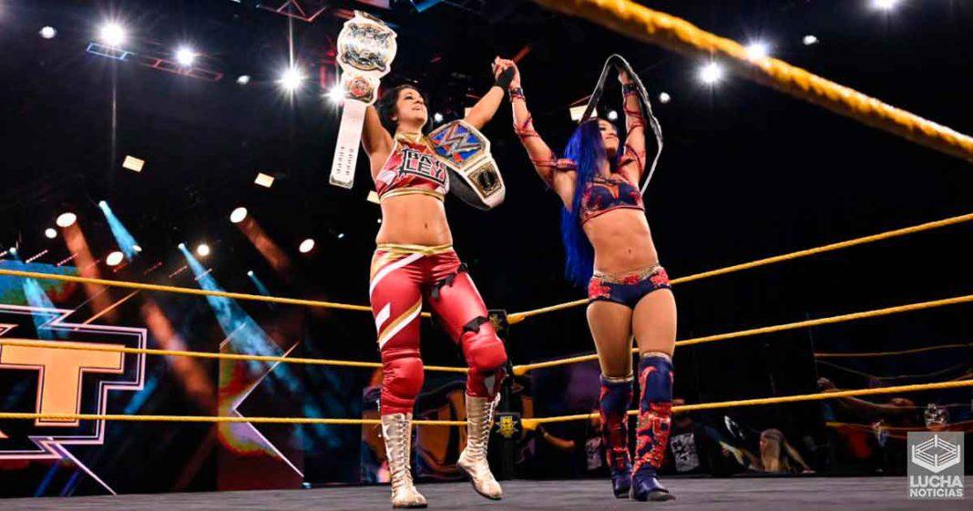 Sasha Banks y Bayley regresan a NXT en una increible lucha