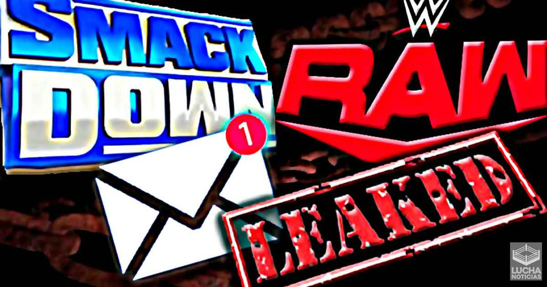 Se filtra correo de WWE que los compromete