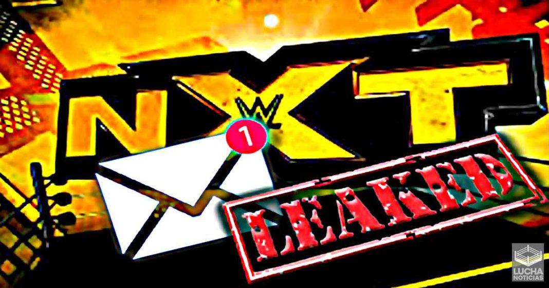 Se filtra correo enviado por WWE al talento de NXT sobre el Covid-19