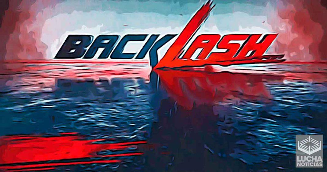 Solo se ha grabado una lucha para WWE Backlash 2020