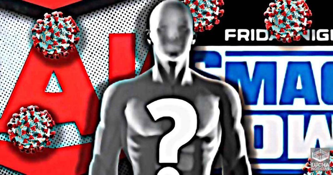 Superestrellas programada para las grabaciones de WWE SmackDown de esta semana da positivo a Covid-19