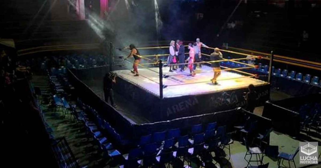 Suspenden a la Arena Naucalpan