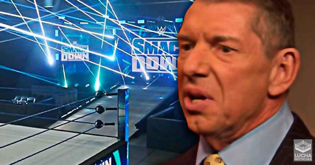 Vince McMahon cambia todos los planes para SmackDown