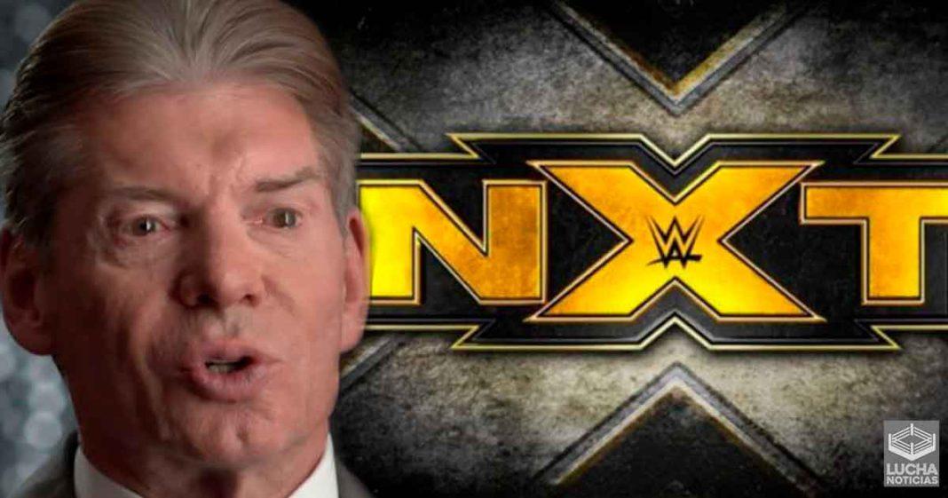 Vince McMahon toma el control creativo de NXT esta semana