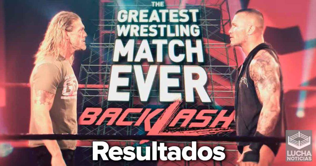 WWE Backlash en vivo resultados 14 de junio