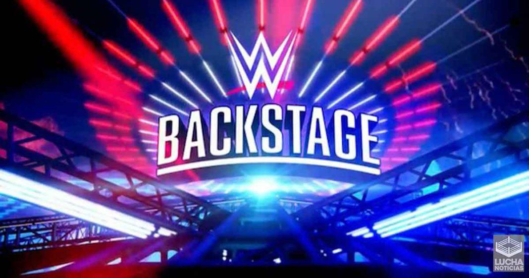 WWE Backstage consigue su mejor segundo ratings