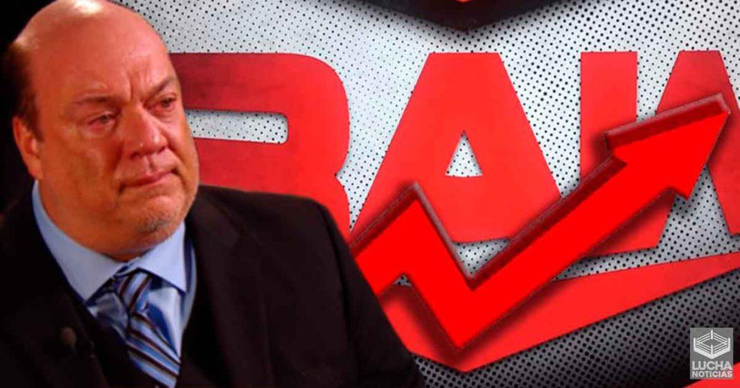 WWE RAW mejora en rating y contenido sin Paul Heyman