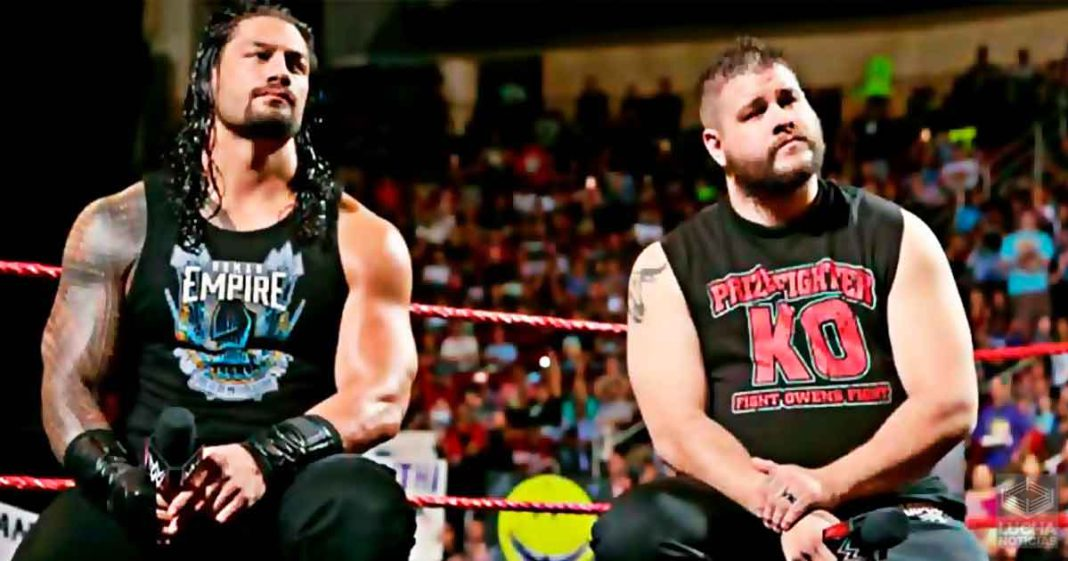 WWE confunde a Kevin Owens con Roman Reigns