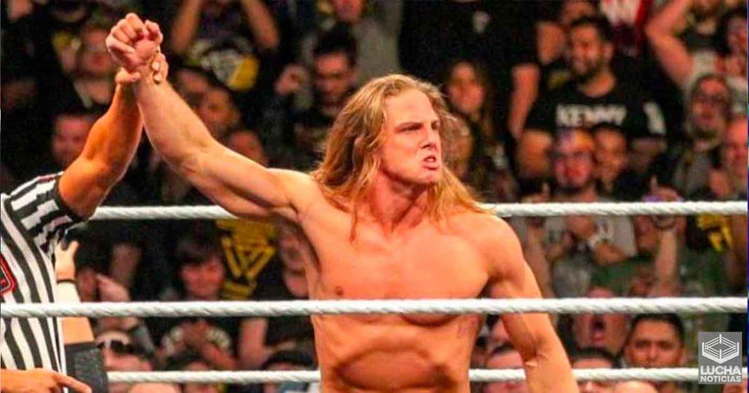 WWE investiga a Matt Riddle por el supuesto abuso