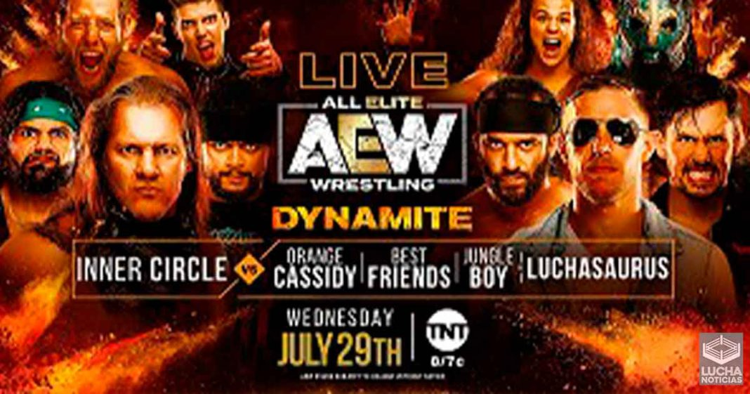 AEW Dynamite en vivo resultados 29 de julio