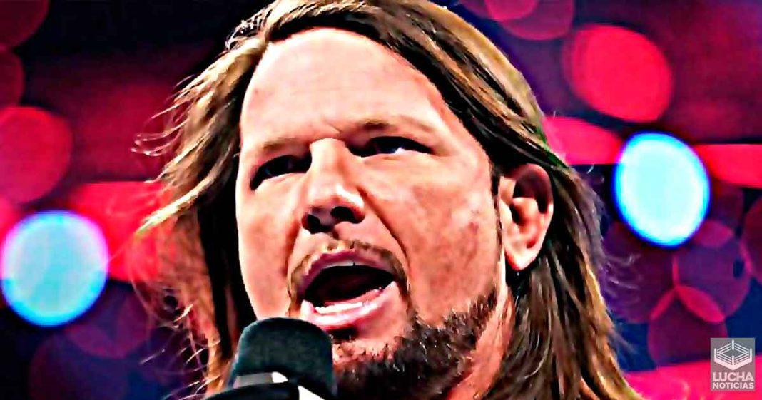 AJ Styles revela que podría su carrera en juego para enfrentar una vez mas a Undertaker