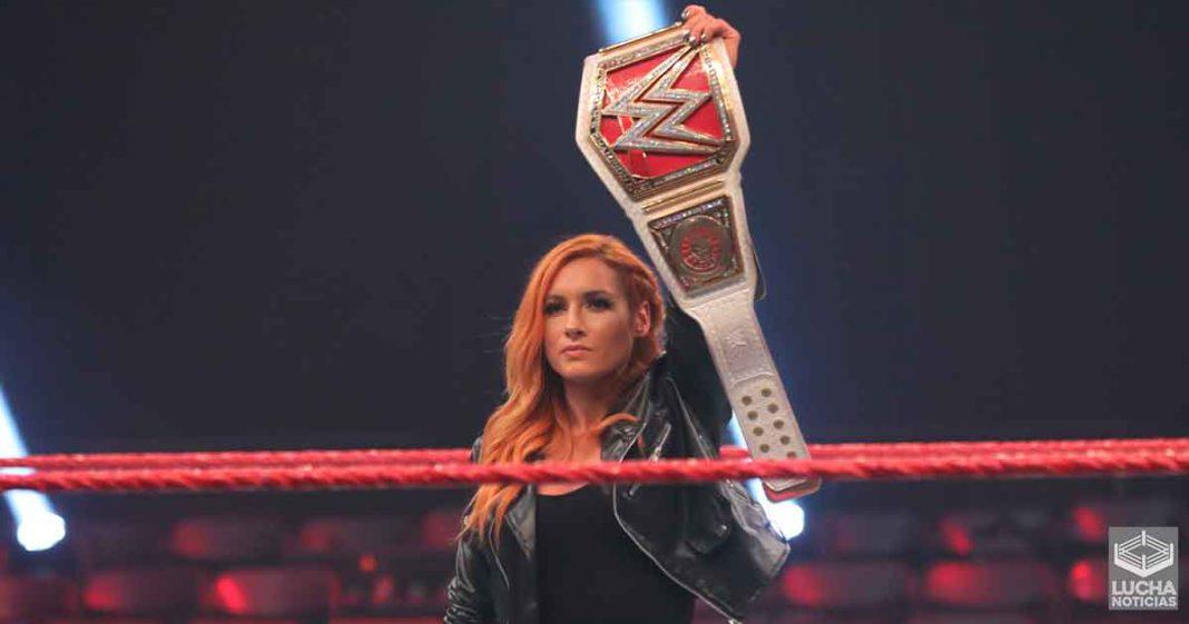 Becky Lynch quería perder en WrestleMania 36 pero Vince McMahon no lo permitió